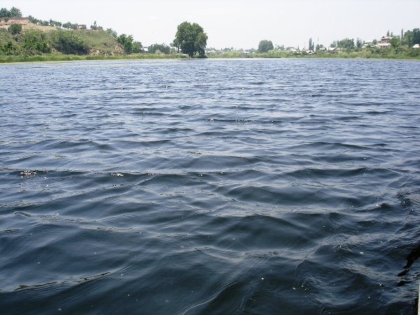 Waves in Nigeen Lake